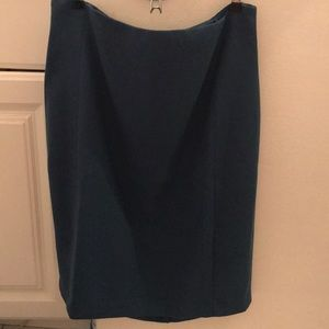 NWT WHBM Snake Blue Suit *Skirt* Size 12